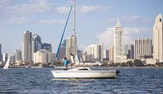 San Diego Bay Sailing Proposal // Given&Beloved photography