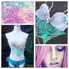 Rave Apparel by whythecagedbirdsingz • instagram: @whythecagedbirdsingz • whycagedbirdsingz.etsy.com • custom orders - whythecagedbirdsingz@gmail.com • specializing in all things mermaid, visit my etsy for rave bras, rave outfits, festival wear, ravewear, and more!   #whythecagedbirdsingz #ravebra #ravebras #ravewear #raveoutfit #festivaloutfit #edmbra #edmoutfit #edcbra #edcoutfit #raveoutfit #ravecostume #plur #rave #ravegirl #mermaidcostume #mermaidbra #mermaidravebra