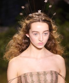 Headpieces at Christian Dior Haute Couture Spring Summer 2017 Fashion Week | InStyle.com