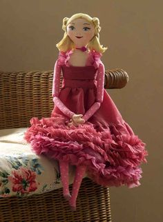 Image detail for -Diamond Hill Handmade Doll | Henrietta the Big Rag Doll