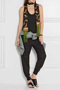 Stella McCartney - Wool-jersey Jumpsuit - Black - IT