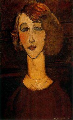 Амедео Модильяни. Женщина с крестом