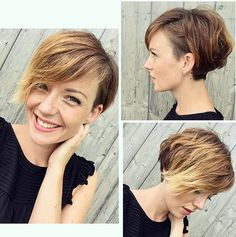 20 Bold and Gorgeous Asymmetrical Pixie Cuts – Page 6 – Foliver blog