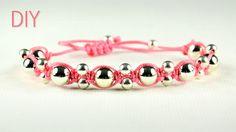 DIY: Alternating Shamballa Bracelet - Easy Tutorial
