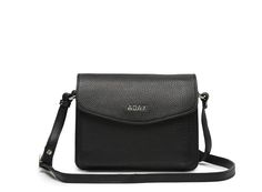 ADAX Cross Over i Sort. Smart ADAX Cross Over taske i lækkert skind til byturen.
