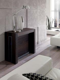 a4 by ozzio italia design marco pozzoli, giacomo mauro   mese ... - Consolle Byblos Tavolo Allungabile Legno Massello