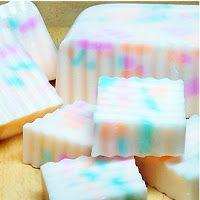 Making Scentz (aka Homemade Bath Products): Wavy Confetti Loaf Soap