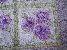 My first French Rose Quilt