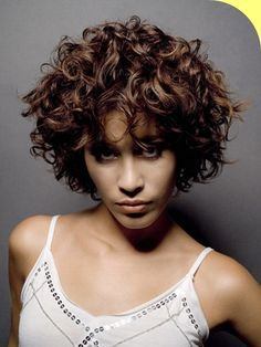 Fashion Tailored Luxury Short Curly Real Human Hair about 10 Inches Short Permed Hair, Short Natural Curly Hair, Short Curls, Curly Hair Cuts, Wavy Hair, Short Hair Cuts, Curly Hair Styles, Natural Hair Styles, Curly Short