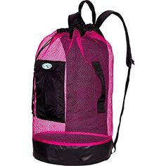 93d03bc5ad4c Panama Mesh Backpack-Pink Review Mesh Backpack