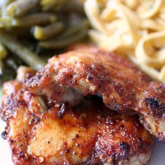Honey Spiced Glazed Chicken | Nutmeg Nanny