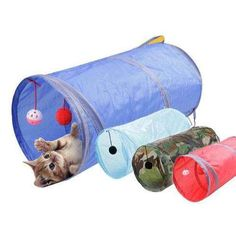 Nylon Collapsible Cat Play Tunnel Long Pet Tunnel Funny Toys With Scratching Ball Cat Kitten Play Toy Bulk Cat Toys Kittens Playing, Cats And Kittens, Siamese Cats, Kitty Cats, Cat Safe Plants, Play Tunnel, Cheap Toys, Funny Toys, Cat Supplies