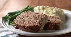 The sweet-and-savory glaze on this classic, comforting recipe makes this meat loaf anything but basic.