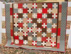 Gratitude Quilt--would also make a cute signature quilt