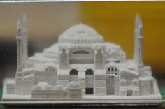 A 20-Year-Old 3D Printed Object Emerges From the Dust at MIT http://3dprint.com/12179/old-3d-prints-hagia-sophia/