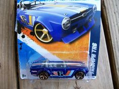HOT WHEELS FASTER THEN EVER  TRIUMPH TR6  FREE SHIPPING!!