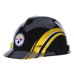 MSA Safety 10098088 NFL Pittsburg Steelers V-Gard Hard Hat --- http  97719776eeb8