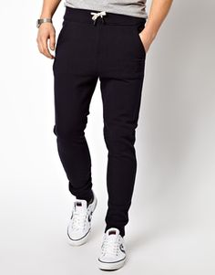 G Star Sweat Pants Navy Raw Tapered