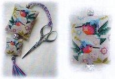 Hummingbirds - Cross Stitch Patterns & Kits - 123Stitch.com