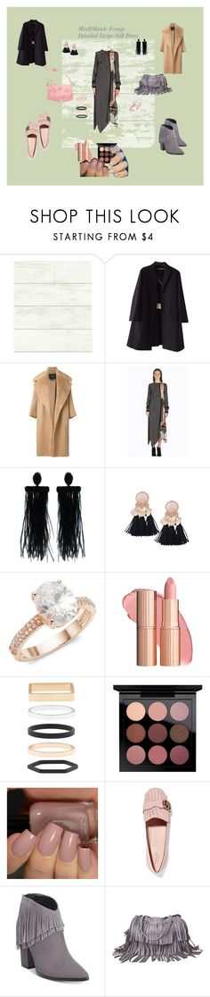 """""""Fringe for Fall 2017"""" by yigal-azrouel-official ❤ liked on Polyvore featuring Magnolia Home, Rochas, MaxMara, Oscar de la Renta, Saks Fifth Avenue, Accessorize, Gucci, Kenneth Cole Reaction, Laggo and Versace"""