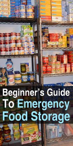 A Short Emergency Preparedness Guide For survival food storage Emergency Food Storage, Food Storage Organization, Emergency Food Supply, Emergency Preparedness Kit, Emergency Supplies, Survival Prepping, Survival Supplies, Urban Survival, Storage Ideas