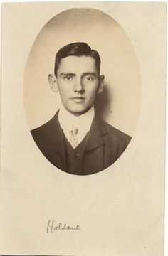 Vintage Real Photo Postcard of a Young Man c. 1900s. £2.00, via Etsy.