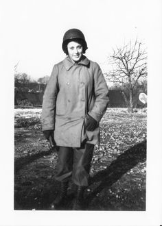 This photo of Muriel Phillips Engelman, a Jewish-American #WWII Army nurse, was taken during the Battle of the Bulge when the Germans were 10 miles away from her location in a tent hospital (general). Her story is featured in Women Heroes of World War II: http://www.amazon.com/Women-Heroes-World-War-Resistance/dp/1613745230/ref=sr_1_2?s=books=UTF8=1372622688=1-2=women+heroes+of+world+war+ii+26+stories+of+espionage #WomensHistory: