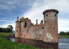 Caerlaverock Castle in Dumfries, Scotland (Maxwell Castle) @Blair Ramon