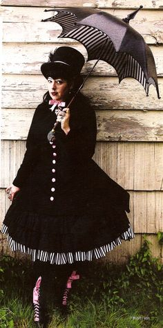 Jillian Venters (cupcake goth on Twitter), author of Gothic Charm School.