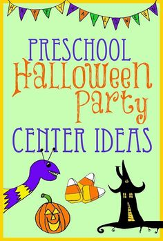 Preschool or Elementary Class Halloween Party Ideas for Room moms and Teachers.