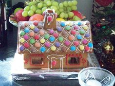 A little gingerbread house
