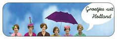 Sticker Groetjes uit Holland www.hipenstipkaarten.nl