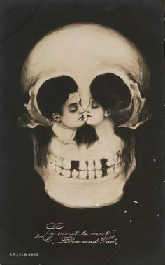 True love...never dies. It just knocks your teeth out and kills you slowly.