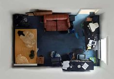 Creative Photography, Room, Portraits, Menno, and Aden image ideas & inspiration on Designspiration Mind Blowing Pictures, Messy Bedroom, Interior Architecture, Interior Design, Bedroom Layouts, Birds Eye View, Abandoned Houses, Interior Inspiration, Interior Ideas