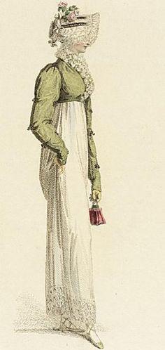 c. 1814 Walking dress. LACMA