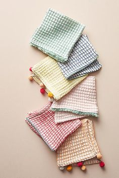 Anthropologie Sandira Dish Towel Set