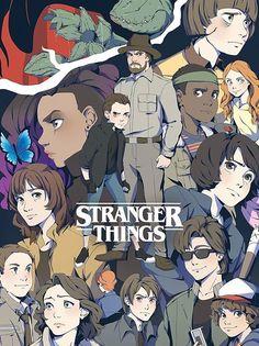 Stranger Things fan artwork
