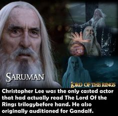 Movie facts you probably didn't know- I knew this one! He also re-reads the lotr each year!
