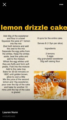 Slimming World Sweets, Slimming World Recipes Syn Free, Low Calorie Recipes, Diet Recipes, Healthy Recipes, Healthier Desserts, Baking Recipes, Weetabix Muffins, Fat Cakes Recipe
