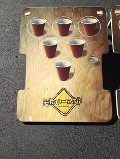 Beer pong meets cornhole in Bru-Bag! America's hottest new yard game. more info at brubag.com