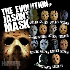 Friday the 13th--- The Evolution of Jason Vorhees' Mask