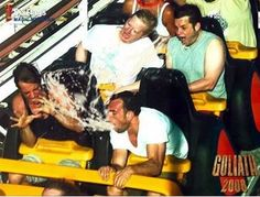 40 of the Greatest and Most Hilarious Rollercoaster Poses