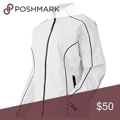 FootJoy Womens DryJoys Performance Golf Jacket The FootJoy Womens DryJoys Performance Golf Jacket gives you much needed protection from the elements in a lightweight design. This rain jacket is full zip with a stretch fabric that gives you full range of motion to swing and move on the course. Fj Jackets & Coats