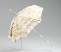 Parasol ca. 1850-1860 via The Costume Institue of The Metropolitan Museum of Art