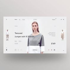 Norse Store designed by Rokk Ebol. Connect with them on Dribbble; the global community for designers and creative professionals. Website Design Layout, Web Layout, Layout Design, Web Design Tutorial, Ui Web, Fashion Sites, Website Design Inspiration, Page Design, Banner Design