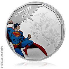 Superman Münze !