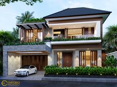 Modern Exterior House Designs, Modern Small House Design, Tropical House Design, Modern House Facades, Dream House Exterior, Modern Architecture House, Modern Zen House, Modern Bungalow Exterior, Minimalist House Design