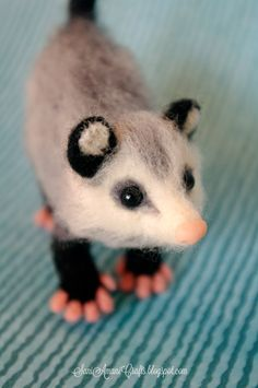 Needle felting - (part XXIX - Possum)