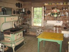The house I grew up in had a summer kitchen. I should like to have one of my own, one day.