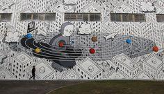 9. Millo – Saint Petersburg, Russia/ 2017'in en popüler 10 sokak resmi parçası | StreetArtNews /// The 10 most popular Street Art pieces of May